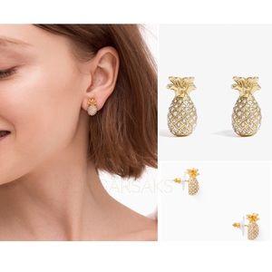 Kate Spade By The Pool Pineapple Earrings